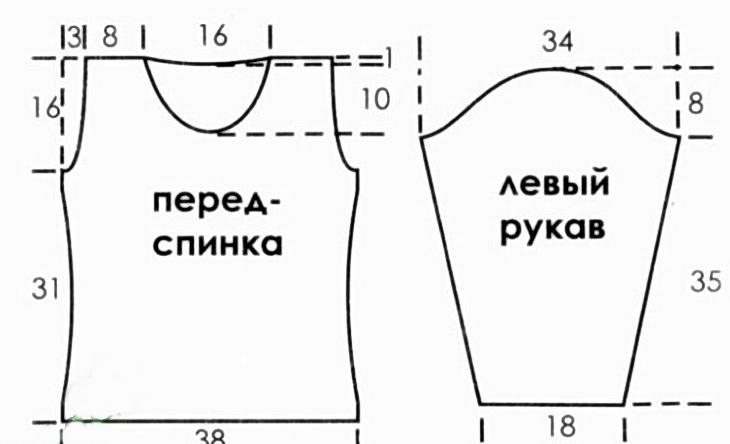 Чертеж Блузки В Воронеже