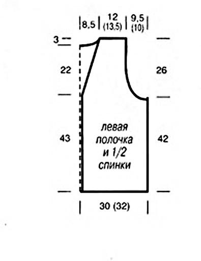 модели, схемы вязания, вязание с описанием.