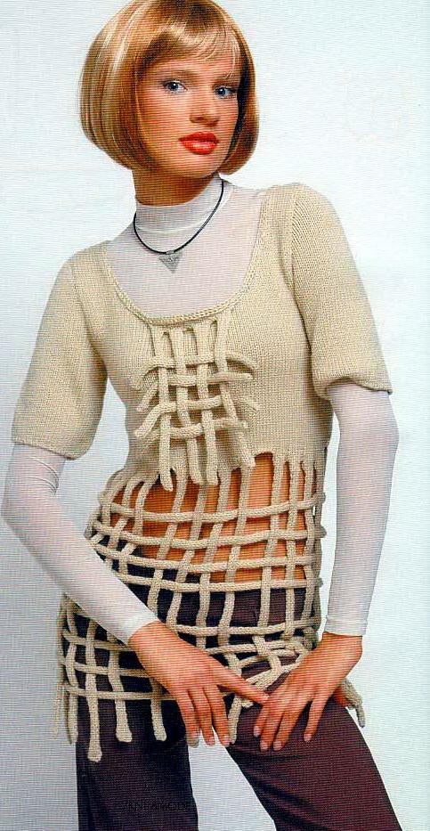 вязанные спицами женские кофточки.