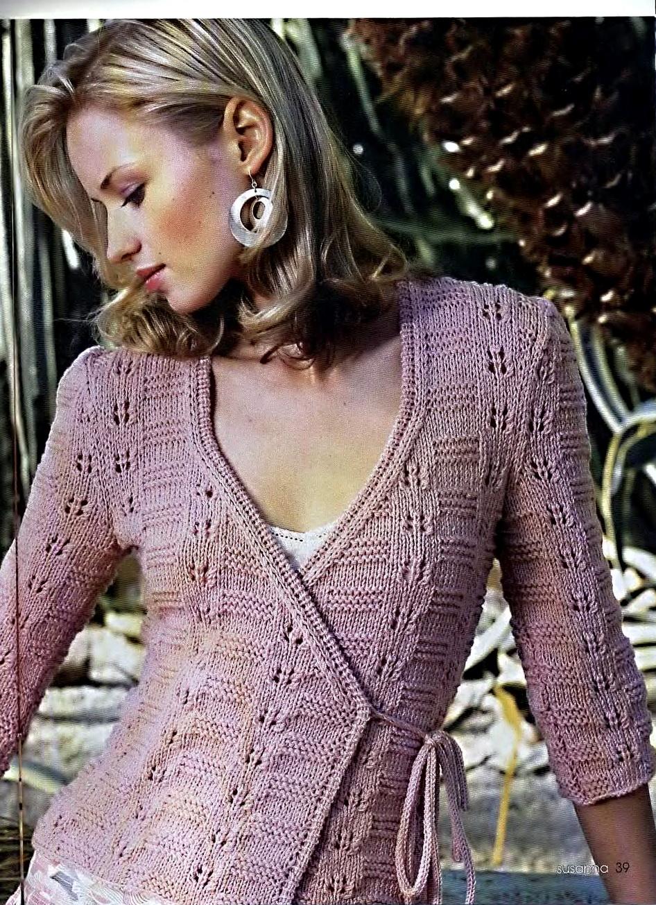 Комментарий: спицами модные свитера и кофты 2012 года.