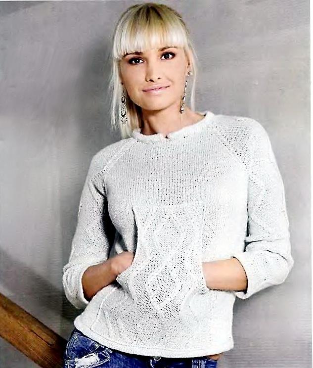 модели вязаных свитеров.