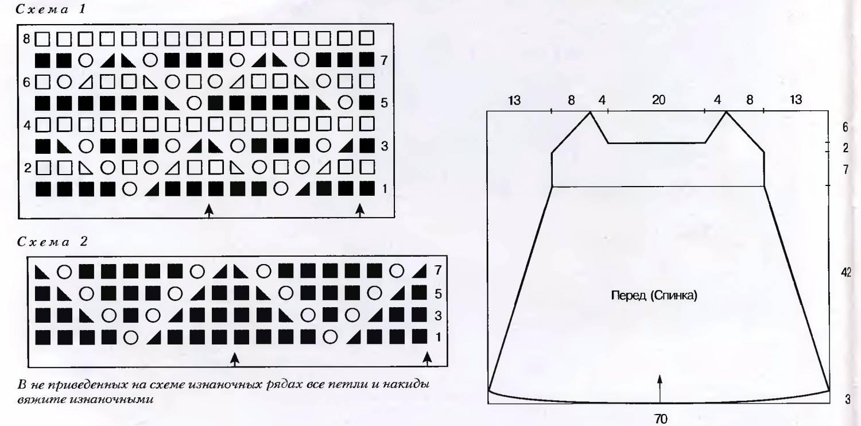 рисунки вязания спицами Схемы и узоры.