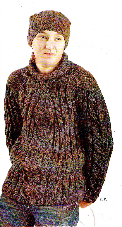 На нашем сайте вы найдете: вязание спицами для мужчин, узоры и модели...