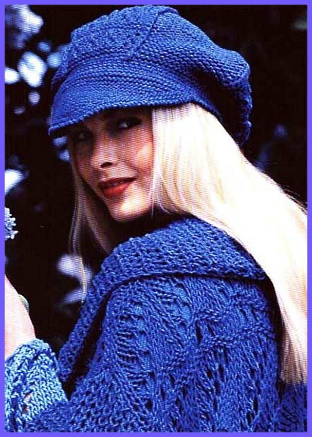 Вязание спицами шапок и сумок - схемы и