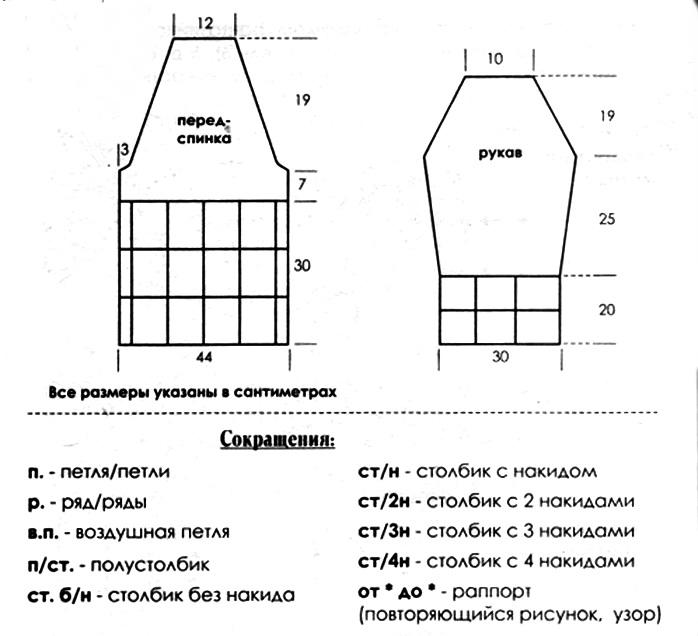 Описание: вязать крючком платье схема на осинке.