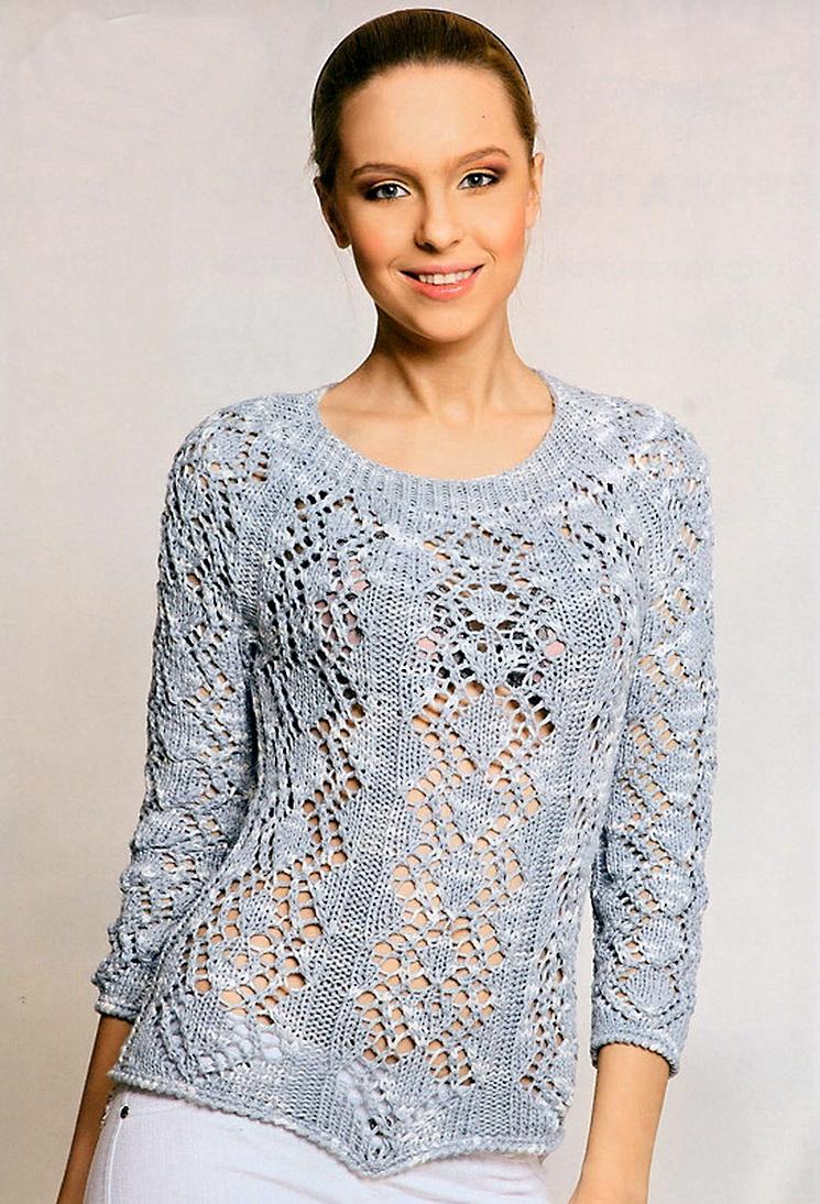Желаем всем успехов в творчестве.  Вязание на спицах Knitting.