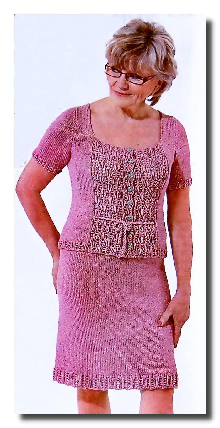 Схема вязания юбки на спицах фото 459