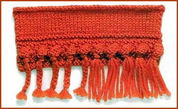 Вязание спицами.