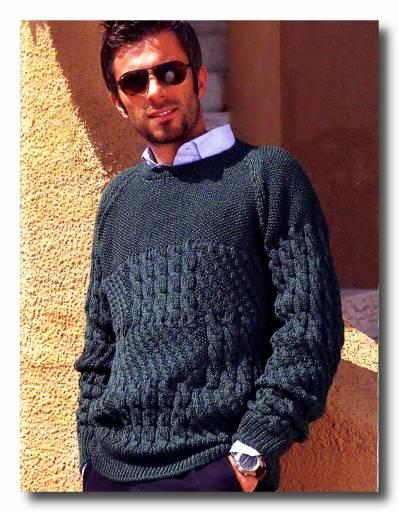 Комментарий: вязание спицами узоры для мужчин.