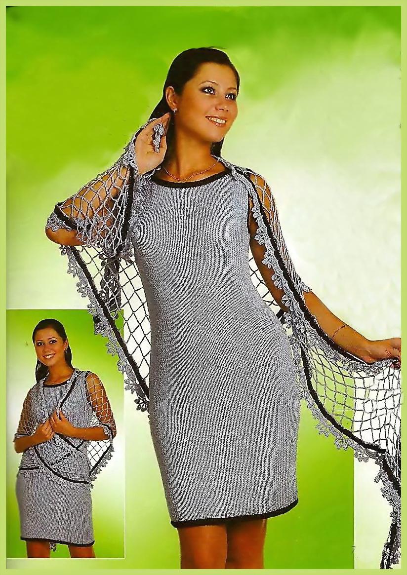 Описание: схемы вязания спицами крупная сетка.