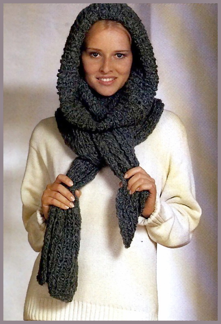 Вязание спицами. Чудо-шарф.