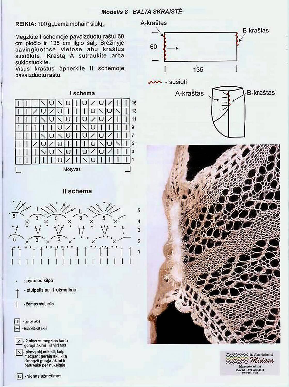 схемы вязания комплектов для новорожденных