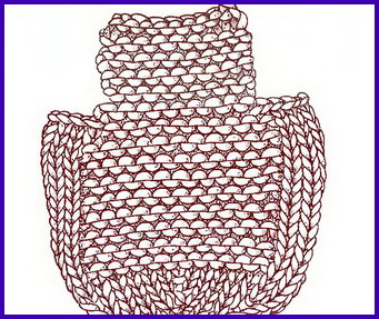 Подплечники для вязаных изделий. Вязание спицами