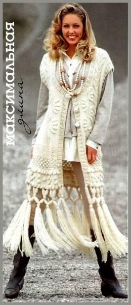 Кофточки, жилеты, безрукавки, болеро, туники спицами так же искаливыбрана рубрика вязание-спицы жилеты.