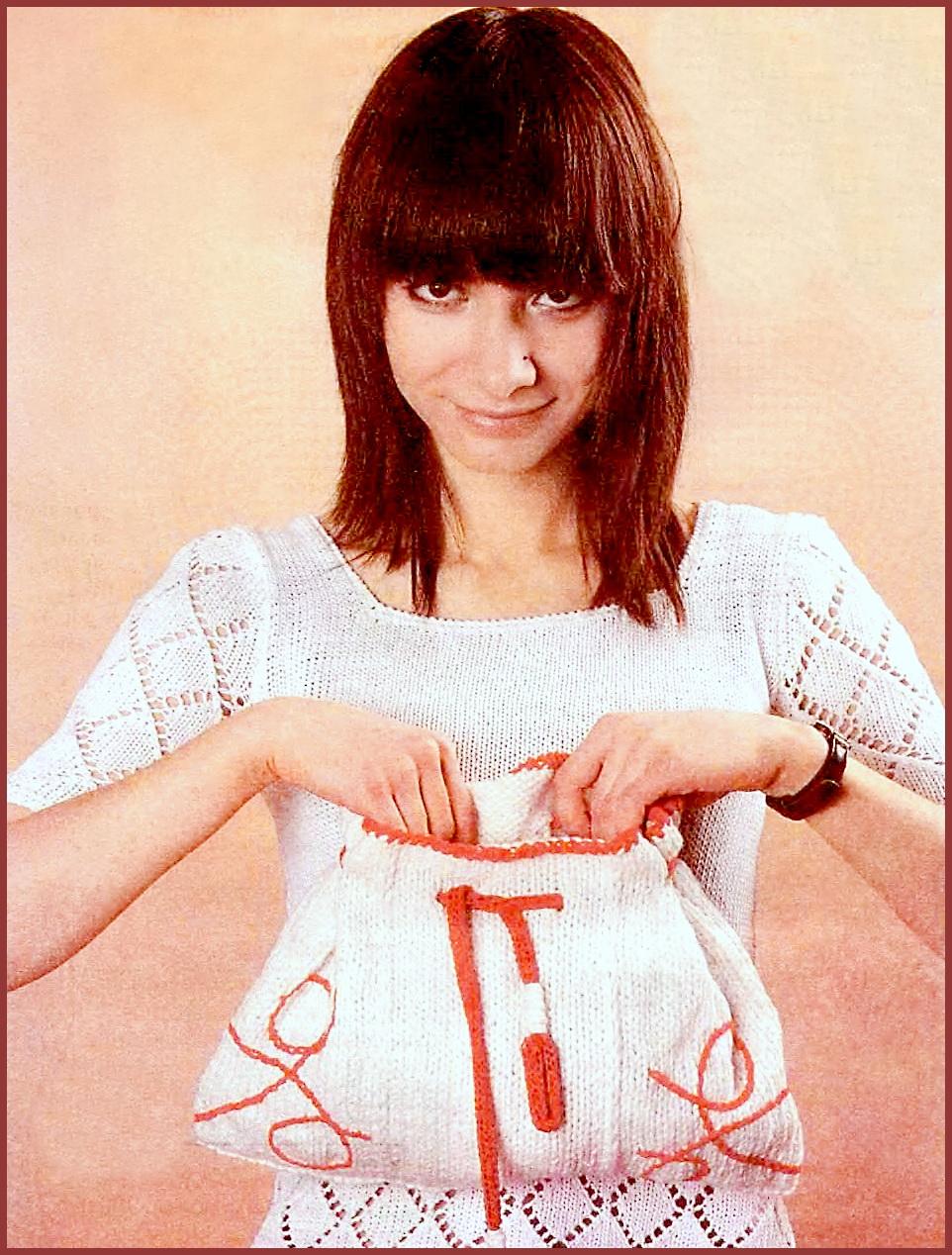 сумочки японское вязание крючок