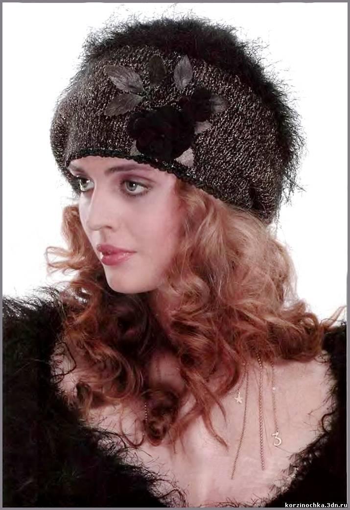 Красивая модель шапочки