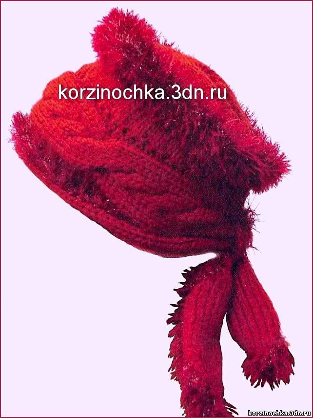 Вязание на спицах новые модели шапок