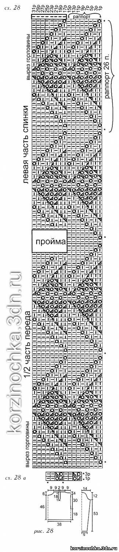 Вязаные кардиганы » Вязание крючком и спицами, модели Модели вязания теплых кардиганов