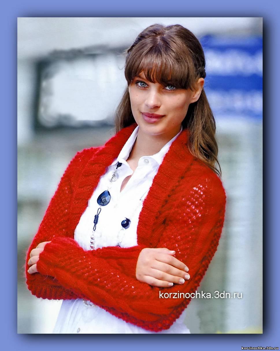 Спицами женских свитеров и схемы к ним