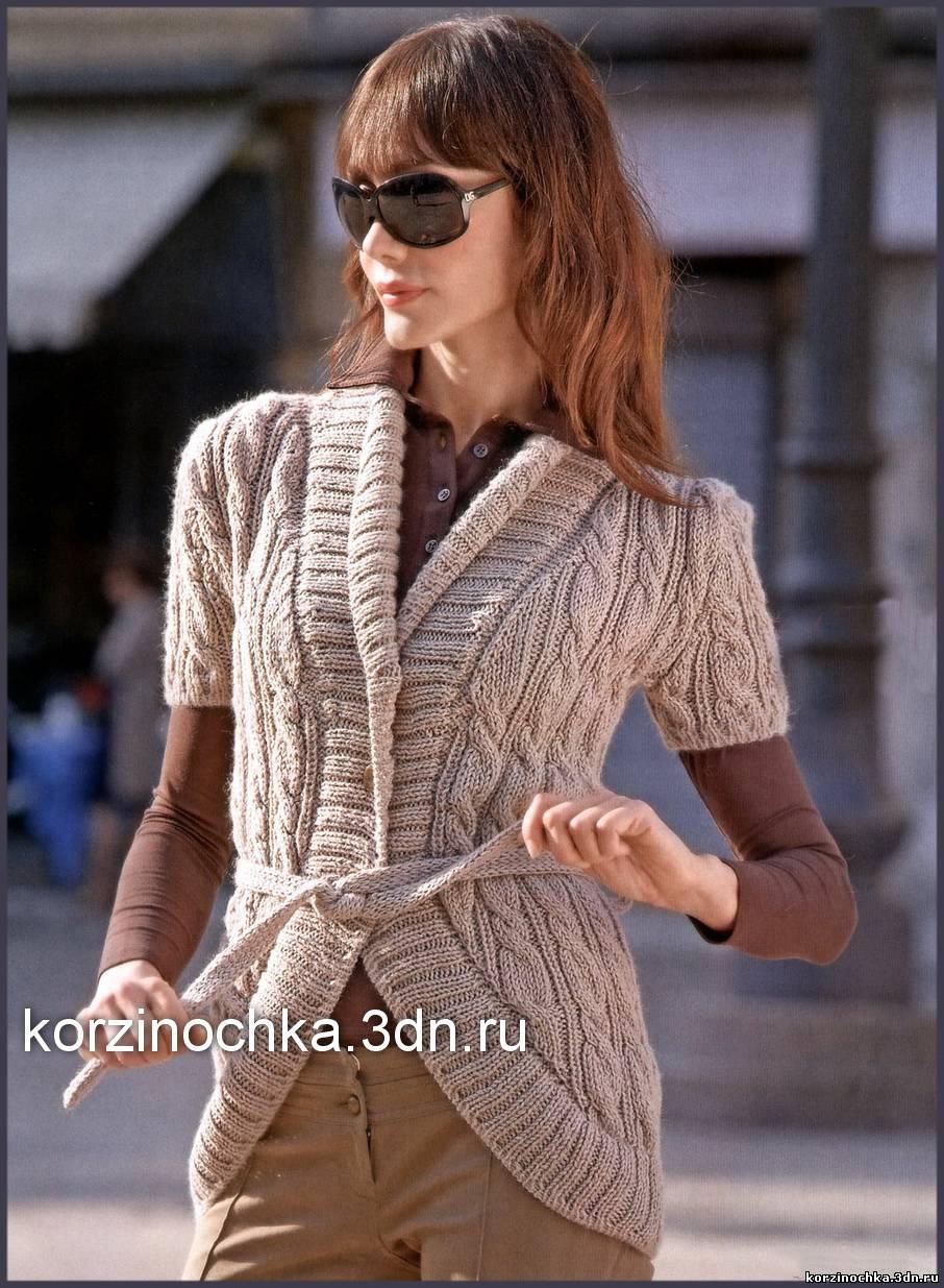 Вязание жакетов для женщин 203