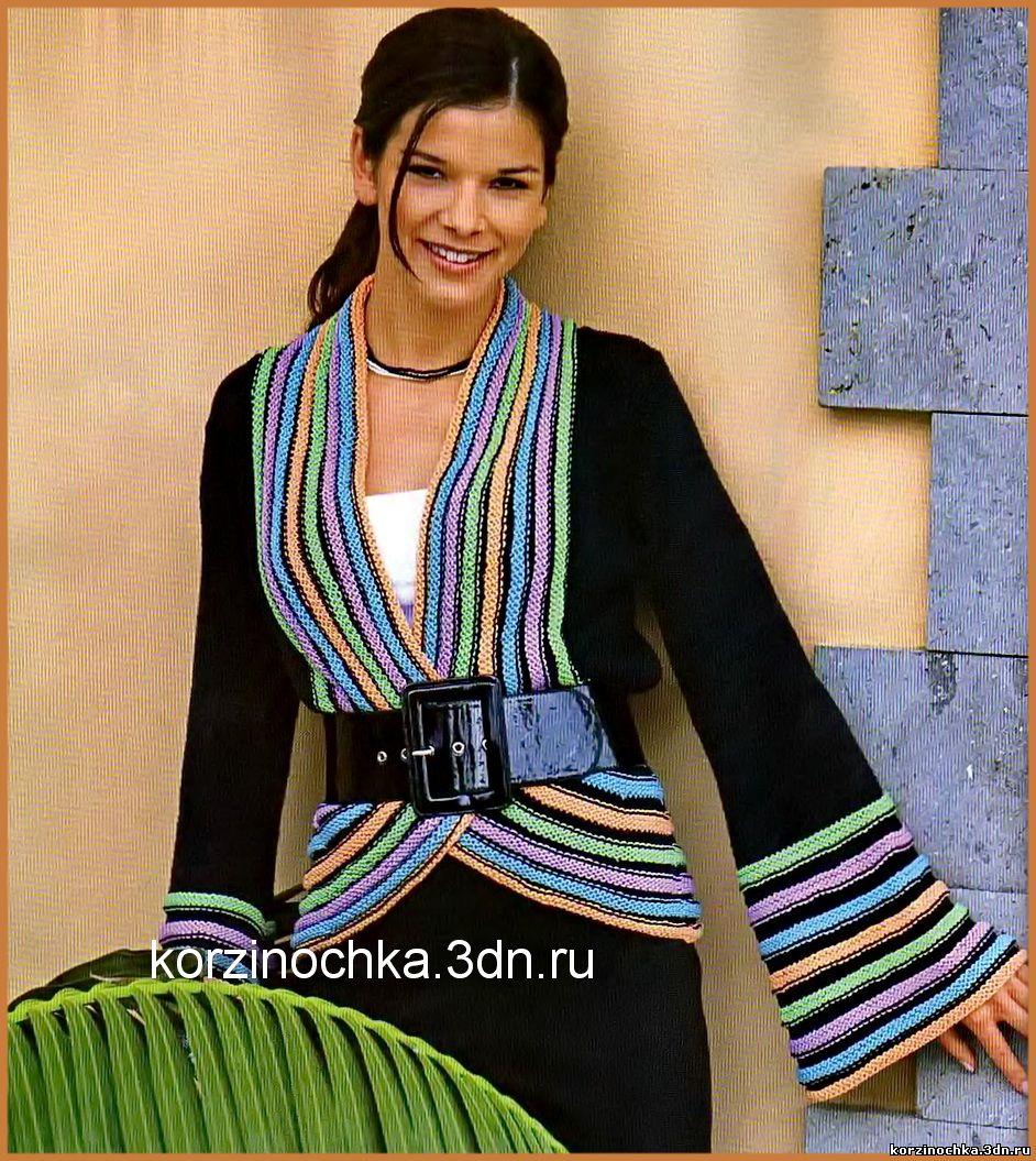 Вязание красивыми полосами
